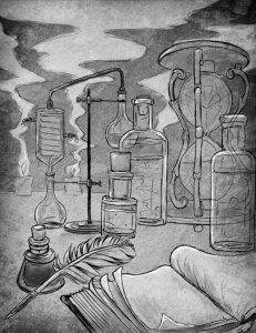 Alchemists Table by Todd D Gnacinski Esq